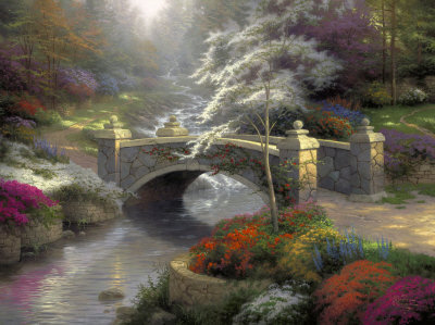 Bridge of Hope - By Thomas Kinkade